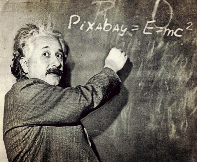 アインシュタイン博士の画像